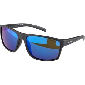 Alpina Nacan I HM Glasses, black matt/blue mirror